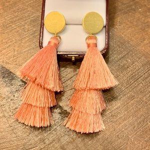 J. Crew Tassel Earrings
